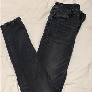 Dark grey jeggings